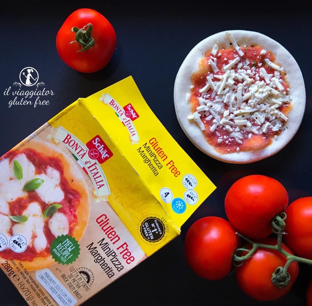 MiniPizza Margherita senza glutine - Schär