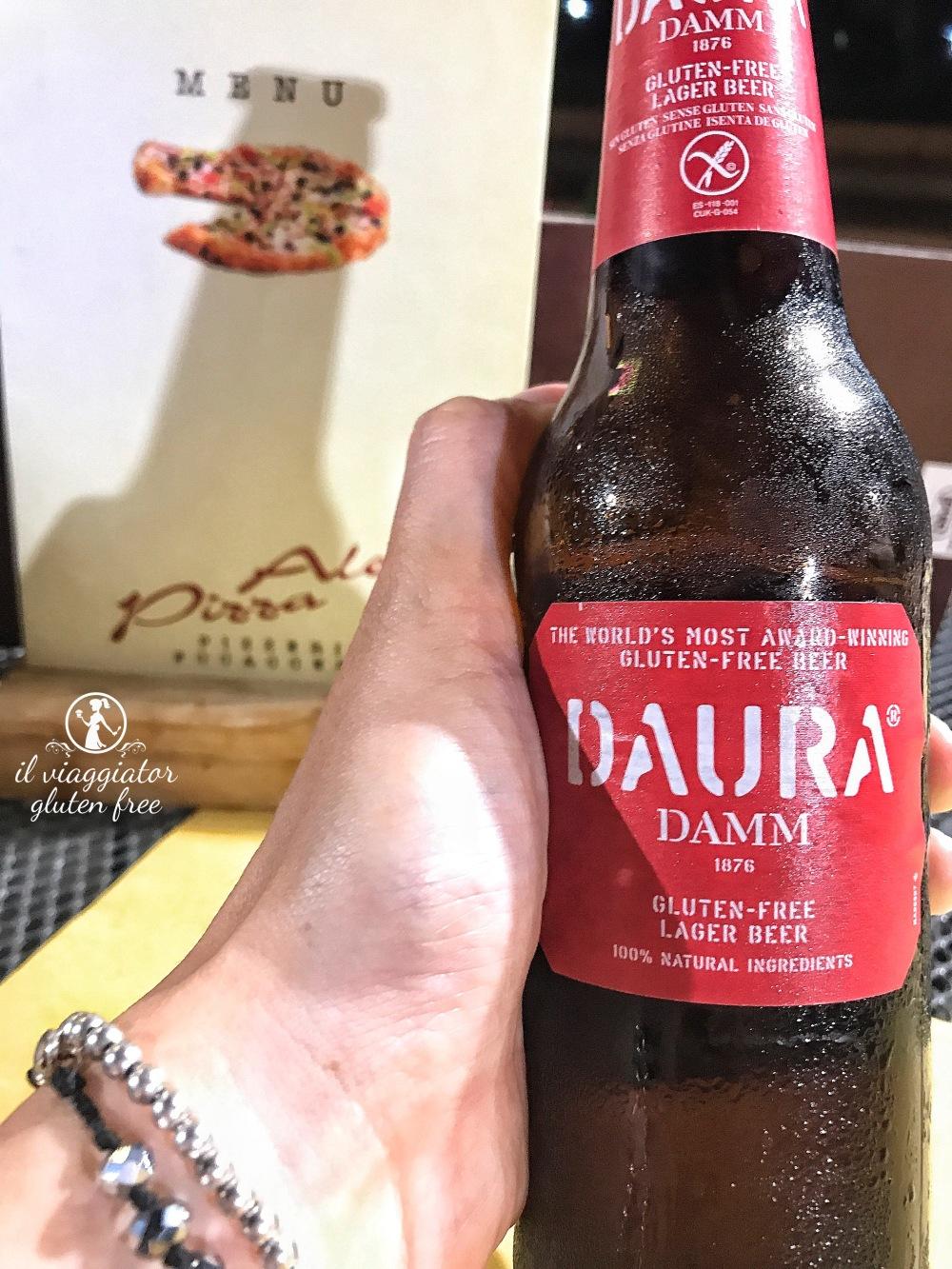 Ale's Pizza: birra Daura senza glutine